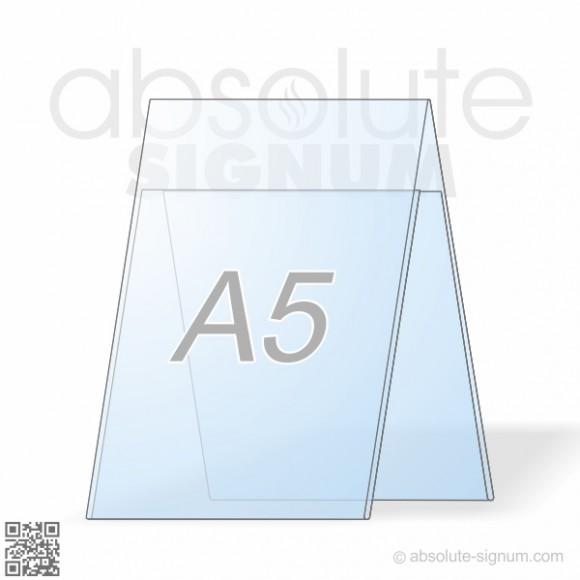 PVC A5 stalak A info holder