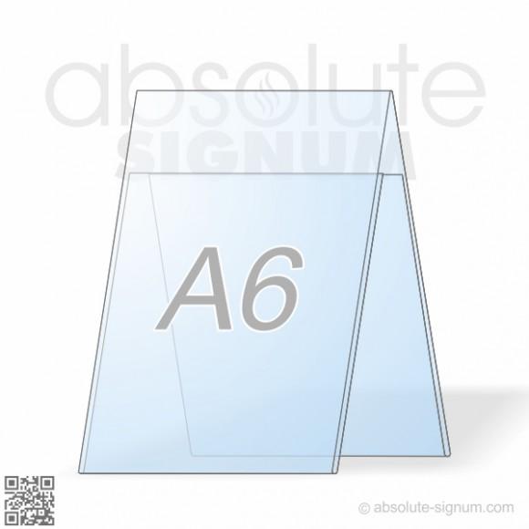 PVC A6 stalak A info holder
