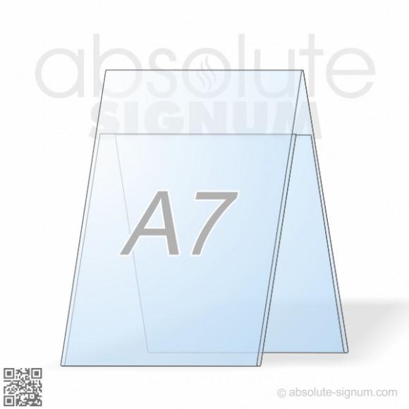 PVC A7 stalak A info holder